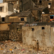 Housing Poverty - Banganga Village, Mumbai, India — Stock Photo