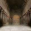 Buddhist Caves - Sanjay Ghandi N.P. Mumbai, India - Stock Photo