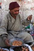 Nuts and Fruit Basket - Leh, India — Stock Photo