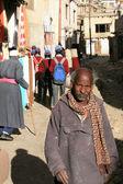 Alter mann - leh, indien — Stockfoto