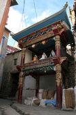 Traditional Building - Leh, India — Stock Photo
