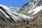 Hikers, India — Stock Photo