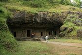 Elephanta 岛,孟买印度 — 图库照片