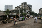 Slums in Bombaby, Mumbai, India — Stock Photo