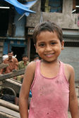 Cute Boy - Slums in Bombaby, Mumbai, India — Stock Photo