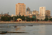Chowpatty Beach, Mumbai, India — Стоковое фото