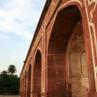 Humayun Tomb, Delhi, India - Stock Photo