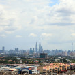Kuala Lumpur Skyline — Stock Photo #11875344