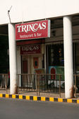 Restaurant - Park Street, Kolkata, India — Foto de Stock