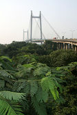 Hooghly Bridge, Kolkata, India — Stock Photo