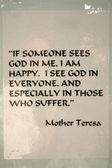 Mother Teresas Quote - , Kolkata, India — Stock Photo