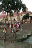 Dakshineshwar Kali Temple, Kolkata, India — Stock Photo