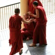 Monks Debating at Home Of Dalai Lama, India — Stock fotografie