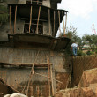 Stock Photo: House Construction - Mcleod Ganj, India