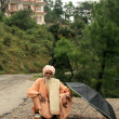 Old Religious Man - Mcleod Ganj, India — Stock fotografie