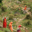 Stock Photo: IndiWomen - Mcleod Ganj, India