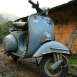 Stock Photo: Motorbike - Mcleod Ganj, India