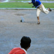 Young Cricketers, India — Stock Photo