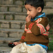 Cute India Child — Stock Photo