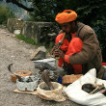 Snake Charming, India — Stock Photo #11887173