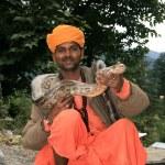 Snake Charming, India — Stock Photo #11887186