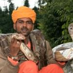 Snake Charming, India — Stock Photo
