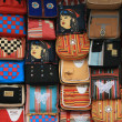 Assorted Bags, Manali, India — Stock Photo
