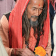 Holy Man - Vashisht Temple, India — Stock fotografie