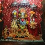 God Statue - Rama Temple - Vashisht — Stock Photo