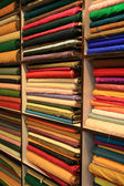 Fabric Shop - Jaipur, India — Stock Photo