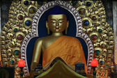 Buddha Statue at Home Of Dalai Lama), India — Stock Photo