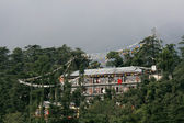 Home of the Dalai Lama - Mcleod Ganj, India — Stock Photo