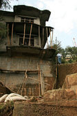 House Construction - Mcleod Ganj, India — Stock Photo