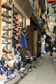 Toon winkels - manali, india — Stockfoto
