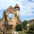 Cistercian church in Carta village from Romania — Stock Photo