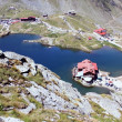 Balea glacial lake, Transfagarasan, Romania — Stock Photo
