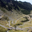 The Transfagarasan road in Fagaras mountains, Romania — Stock Photo