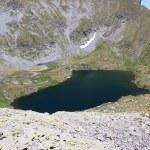 Goat lake from Fagaras mountains, Romania — Stock Photo
