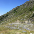 Stock Photo: Scene with very difficult road of Transfagarasan from Romania