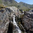 Waterfall from Tranfagarasan, Romania — Foto Stock