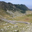 Stock Photo: Transfagarasroad in Fagaras mountains, Romania