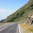 Scene from difficult road of Transfagarasan, Romania — Foto Stock