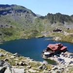 Mountain scenery with Balea lake from Romania — Stock Photo #11868922