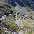 The Transfagarasan winding road in Fagaras mountains, Romania — Stock Photo #11868924