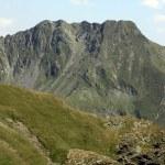 Alpine landscape in Fagaras mountains from Romania — Stock Photo