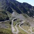 The most famous road in Romania, Transfagarasan — Foto de Stock