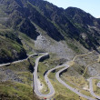 The most famous road in Romania, Transfagarasan — Stok fotoğraf