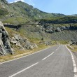 Scene from difficult road of Transfagarasan, Romania — Стоковая фотография