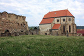 Cistercian church dated for the first time at 1223 — Stock Photo