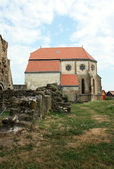 Carta, Romania - 21.07.2012 - Cistercian church dated for the first time at 1223 — Stock Photo